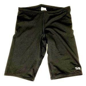 TYR Performance Jammer Mens Black Shorts Size 32